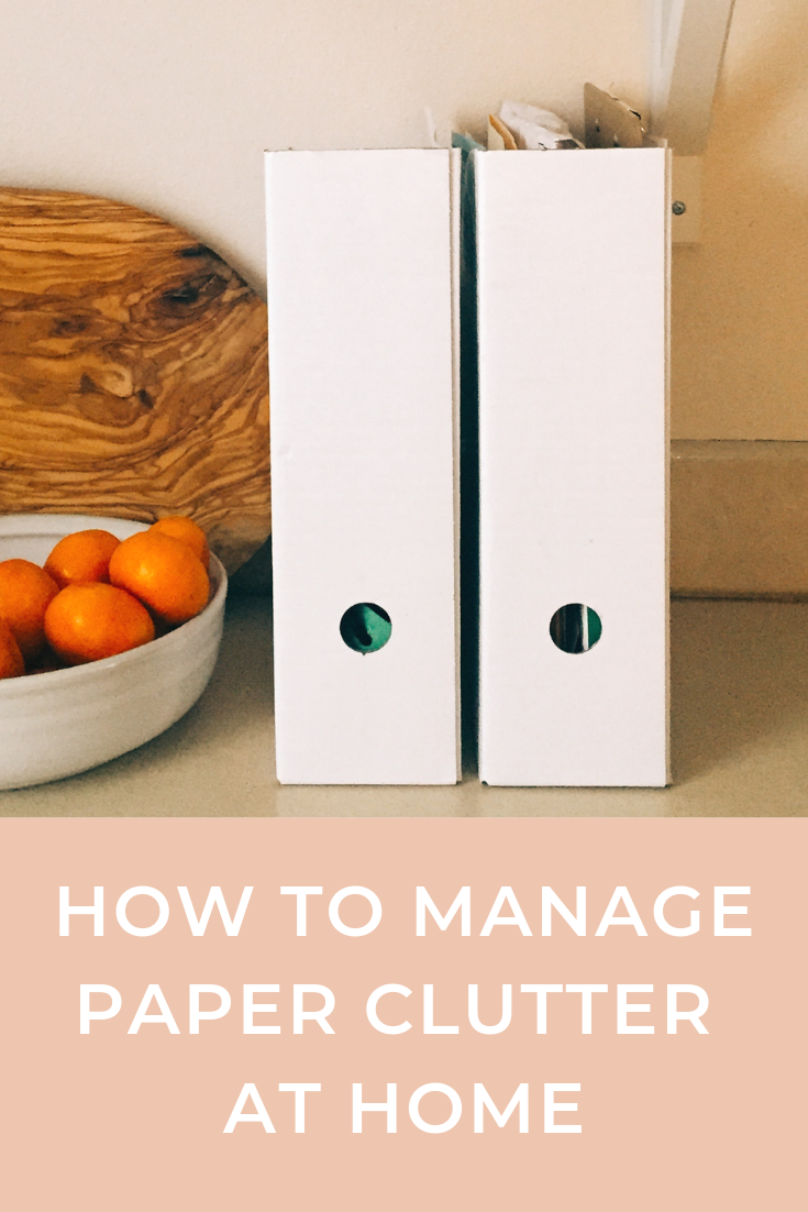 how+to+manage+paper+clutter+at+home