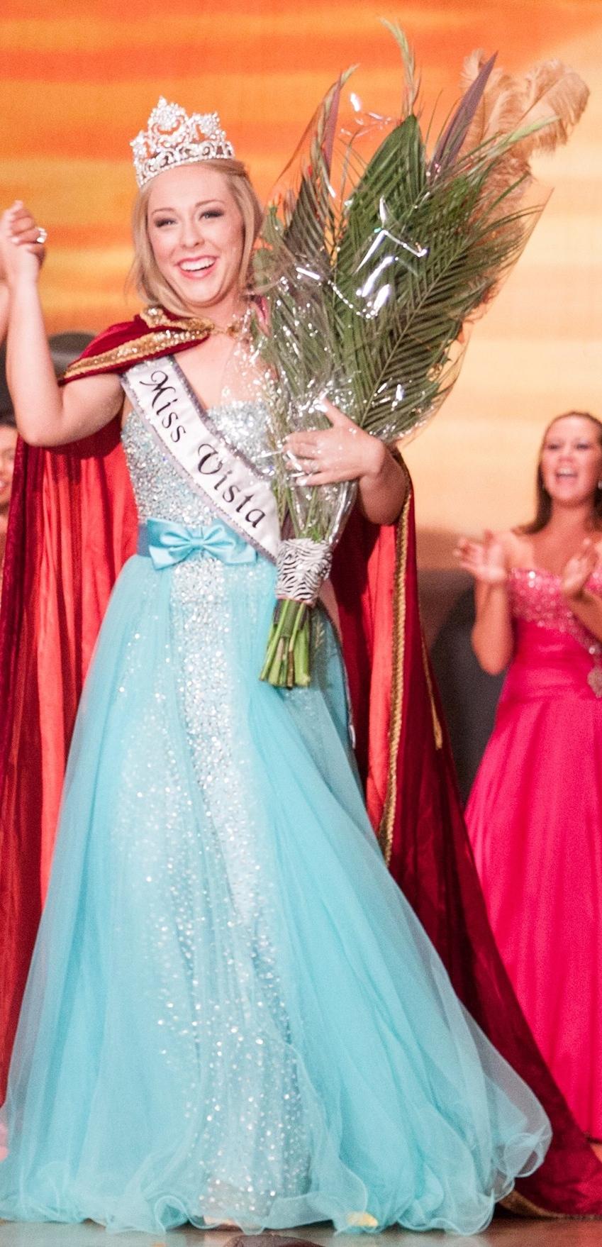 Eileen Jones, Miss Vista 2014