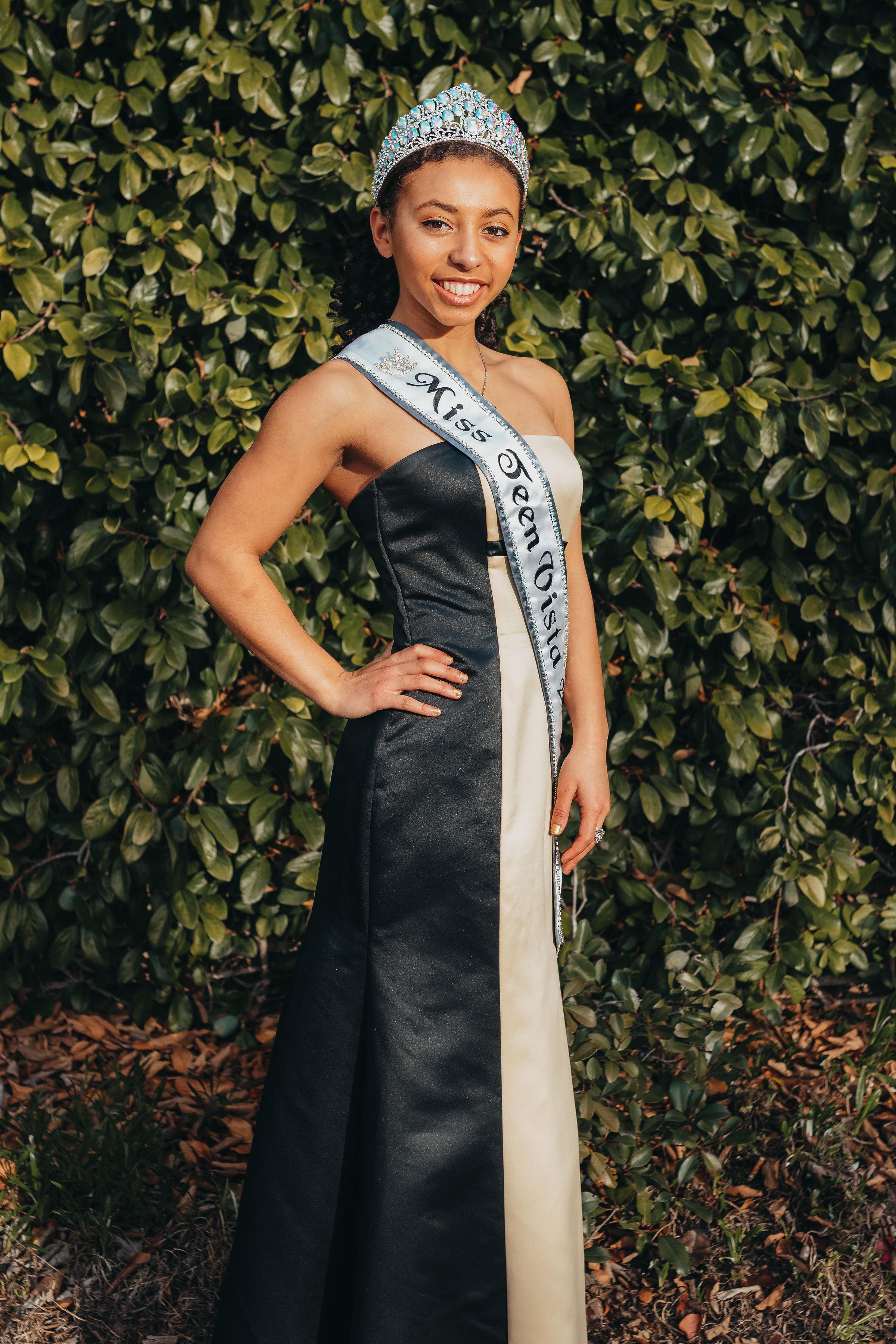 Camie Parker, Miss Teen Vista 2018