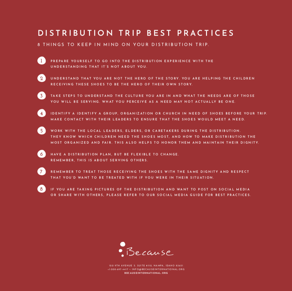 Distribution Best PracticeS -