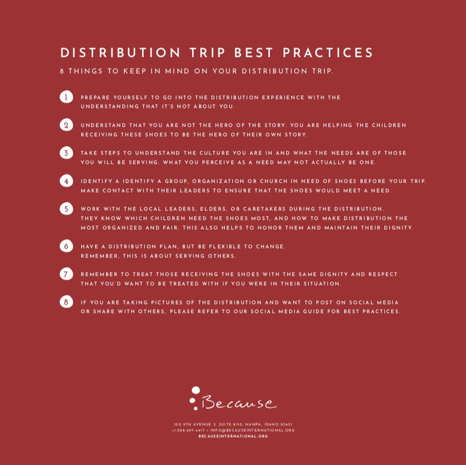 Service TriP Best Practices -