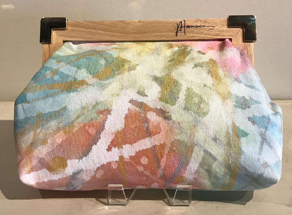 SOLD 17-24722 Hansen Clutch Handbag 12x8 acrylic on canvas.jpg