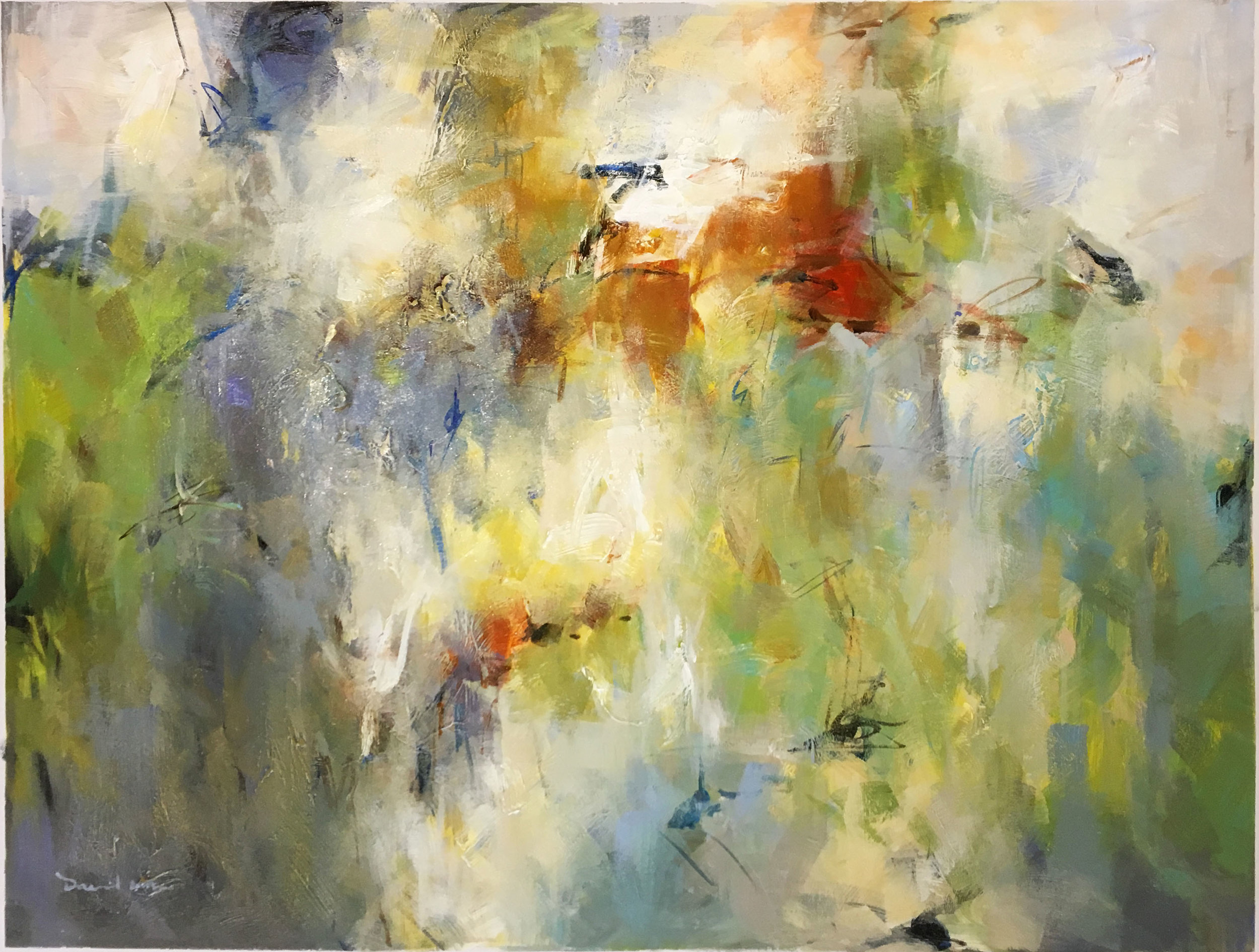 SOLD 18-24755 David Ma Abstract Acrylic 48x36 acrylic on canvas.jpg