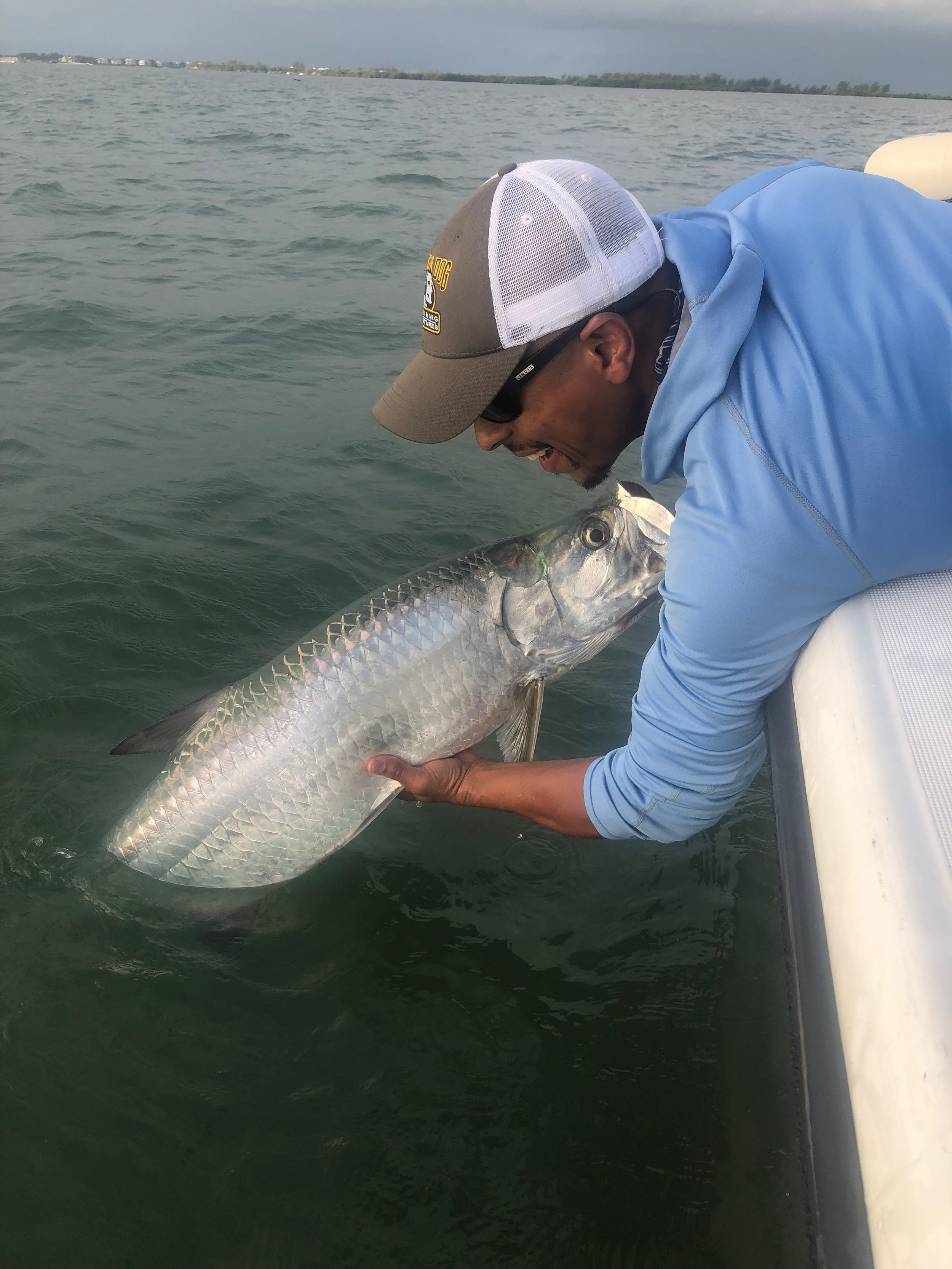 Tarpon smiles for Buff!