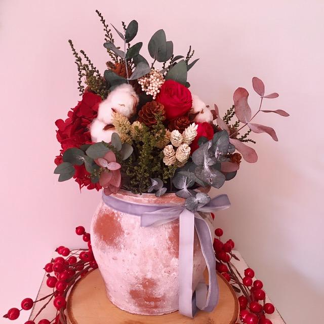 centros flores preservadas navidad madrid