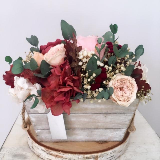 centros de mesa flores preservadas madrid