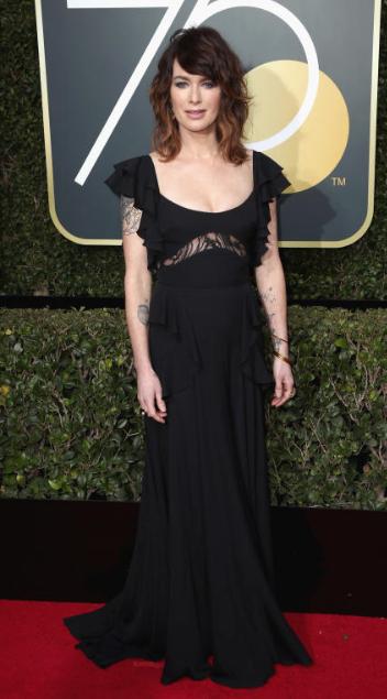 Wonderwall: Lena Headey at the 2018 Golden Globe Awards • January 7, 2018