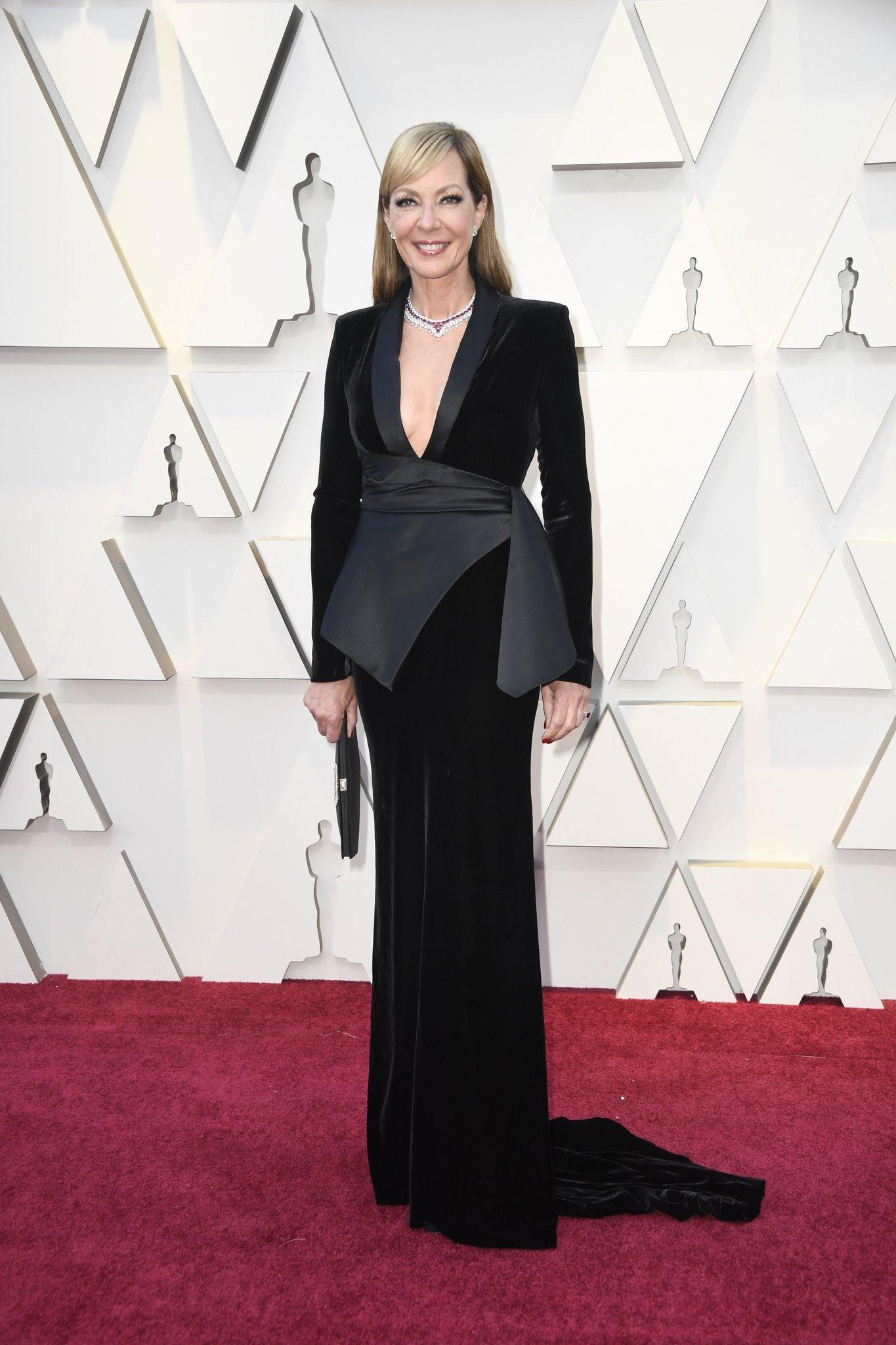 Oscars: Allison Janney at the 2019 Oscars • February 24, 2019