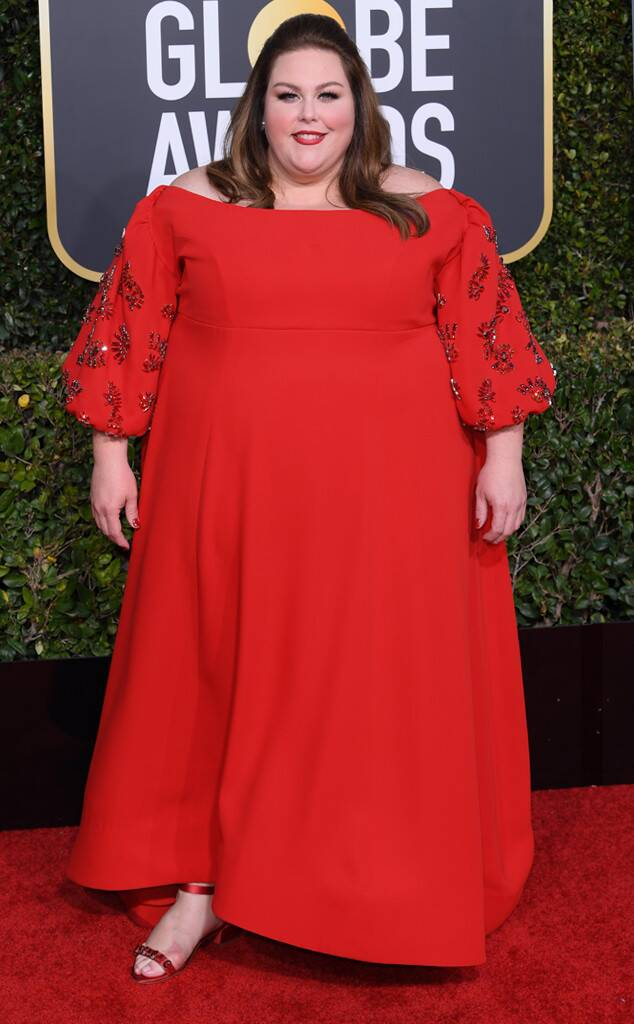 E! News: Chrissy Metz at the 2019 Golden Globes • January 6, 2019