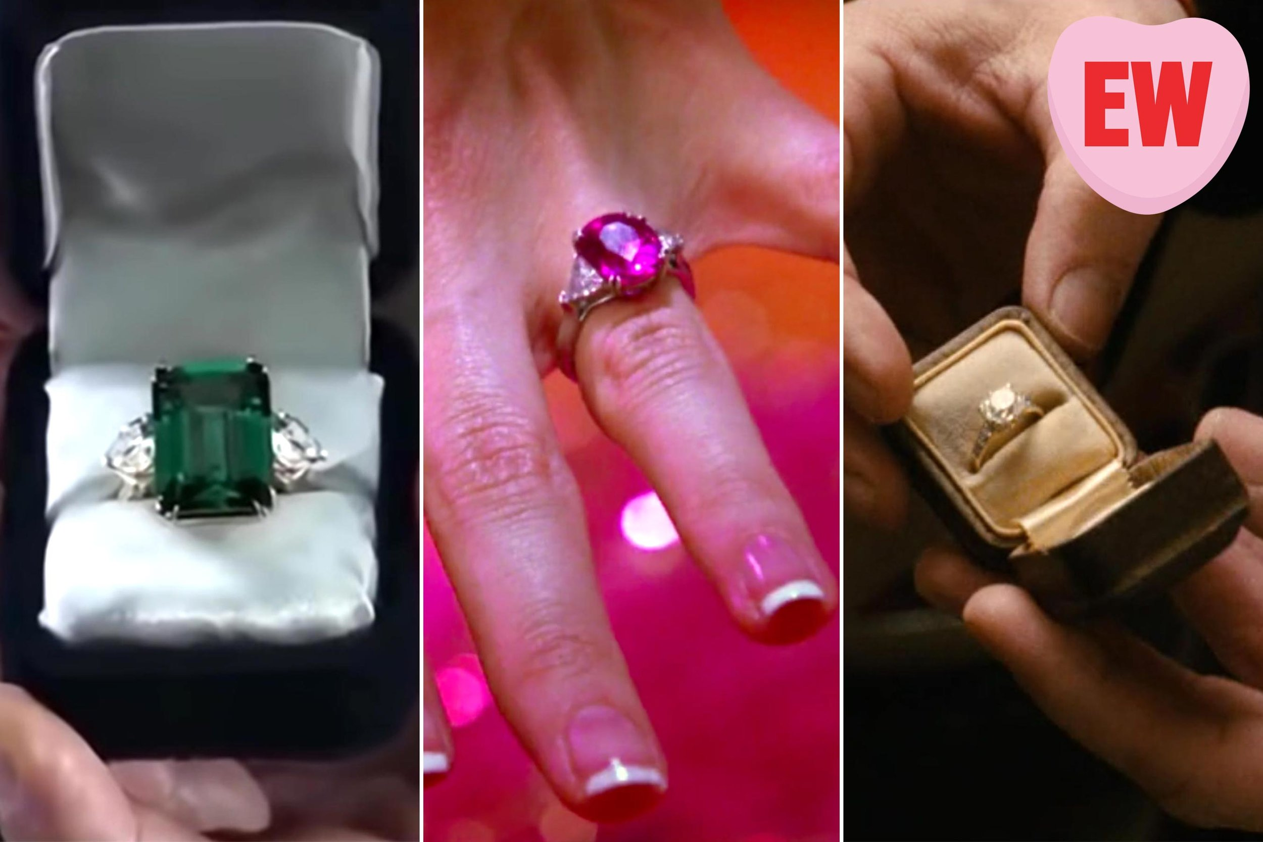 Entertainment Weekly: The 8 best rom-com engagement rings, appraised by The Bachelor jeweler Neil Lane • February 13, 2019