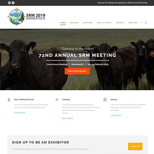 website + copy + print media | SRM