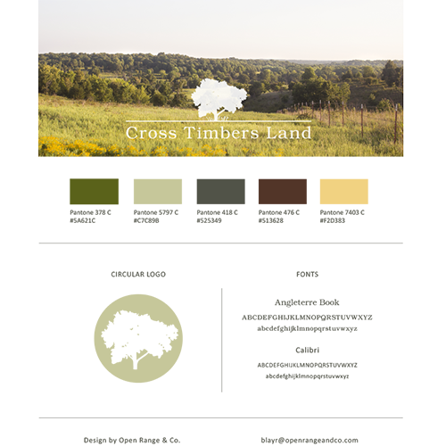 brand board | Cross Timbers Land