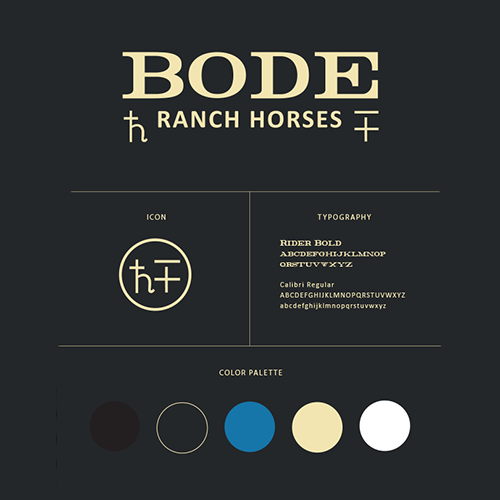 brand board | Bode Ranch Horses