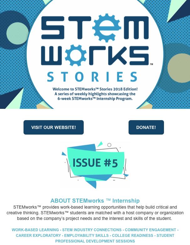 STEMworks™ Stories e-newsletter - Issue 5