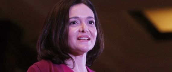 """NEW DELHI, INDIA – JULY 2: Facebook Chief Operating Officer (COO) Sheryl Sandberg attends an interactive session organized by FICCI Ladies Organisation, on July 2, 2014 in New Delhi, India. Sandberg is expected to meet Prime Minister Narendra Modi during her ongoing India visit. She said, """"India is an emerging global economic power, has the potential to become the largest economy in the world."""" She said, Facebook will also increase its investments in India, where it has one of its four global development centres. (Photo by Sanjeev Verma/Hindustan Times via Getty Images)"""