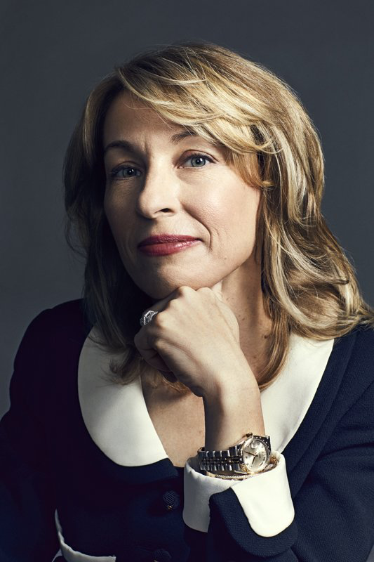 LEANNE CARET   CEO and president of defense,   space, and security,    Boeing