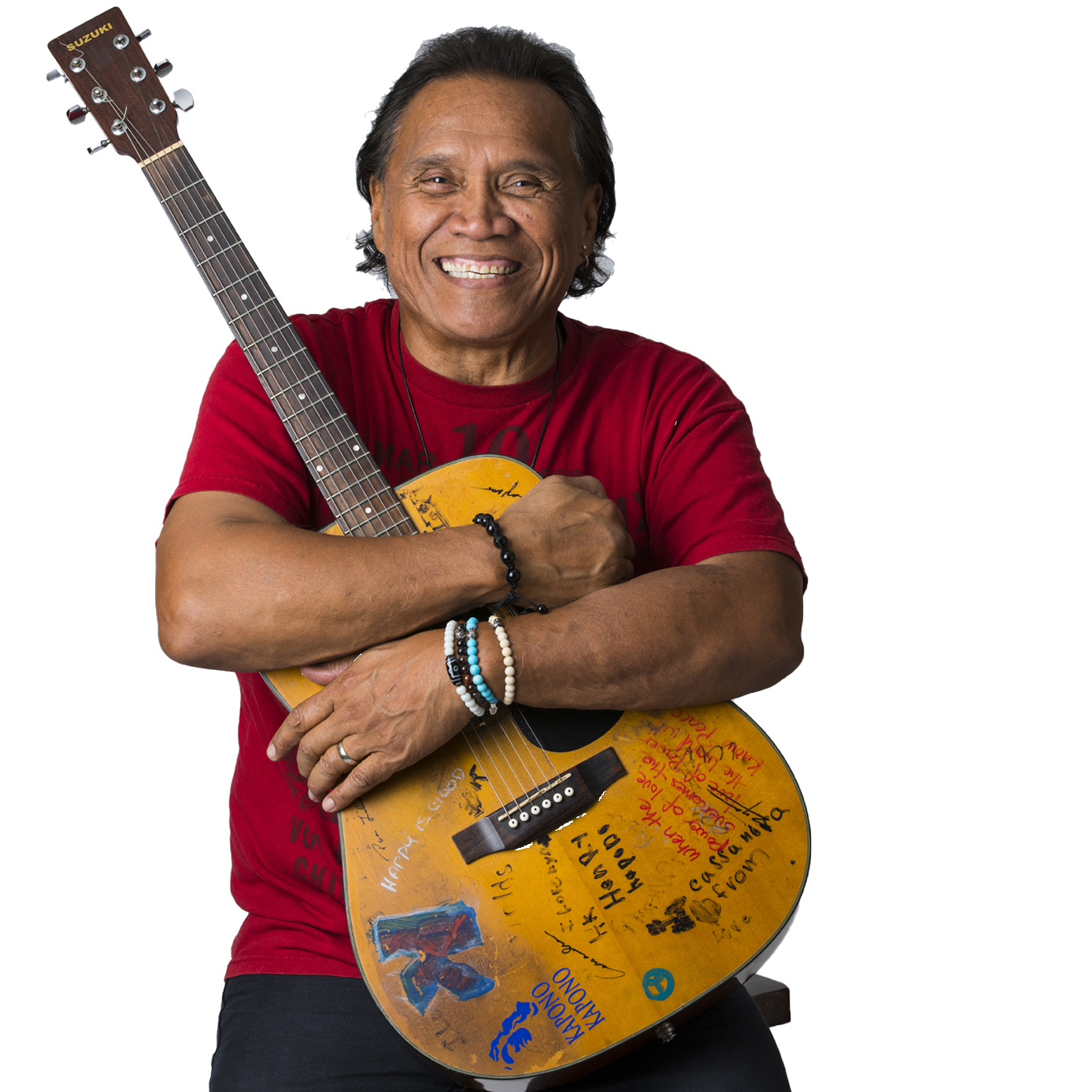 Singer/songwriter Henry Kapono.  Photo by Henry Kapono Foundation