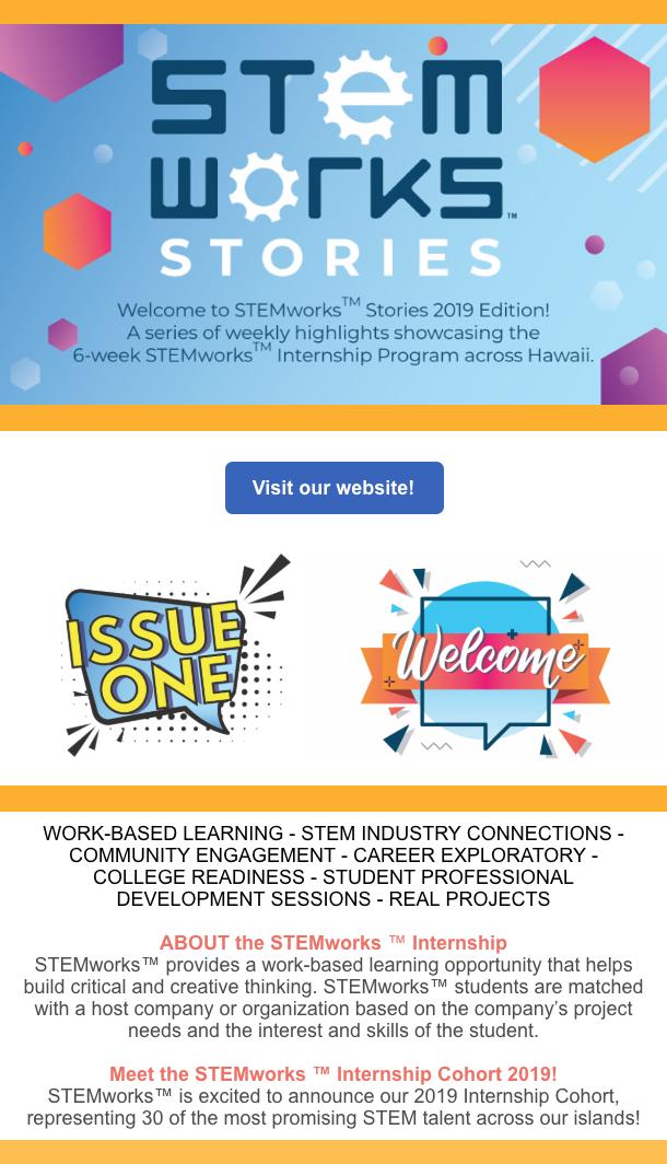 STEMworks Stories 2019 Issue 1