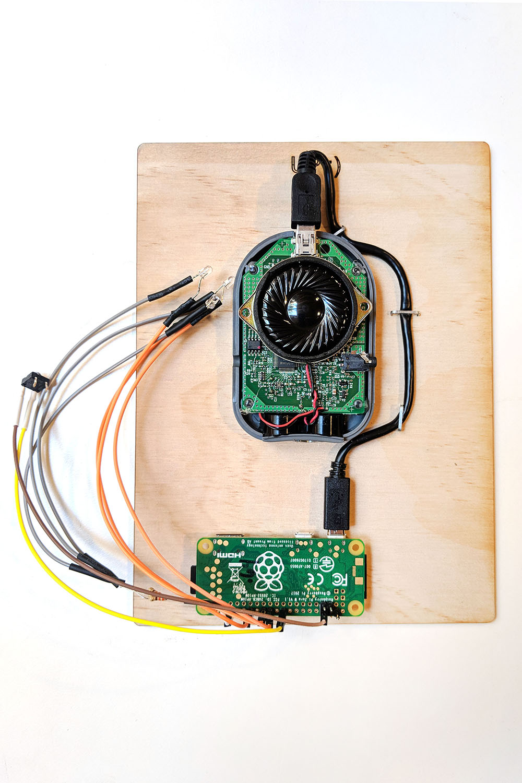 Wiring setup for Inter(net)coms: