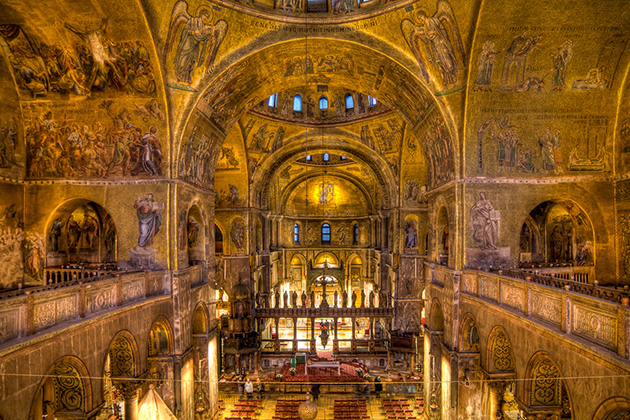 Choir lofts at St. Mark's Basilica, Venice