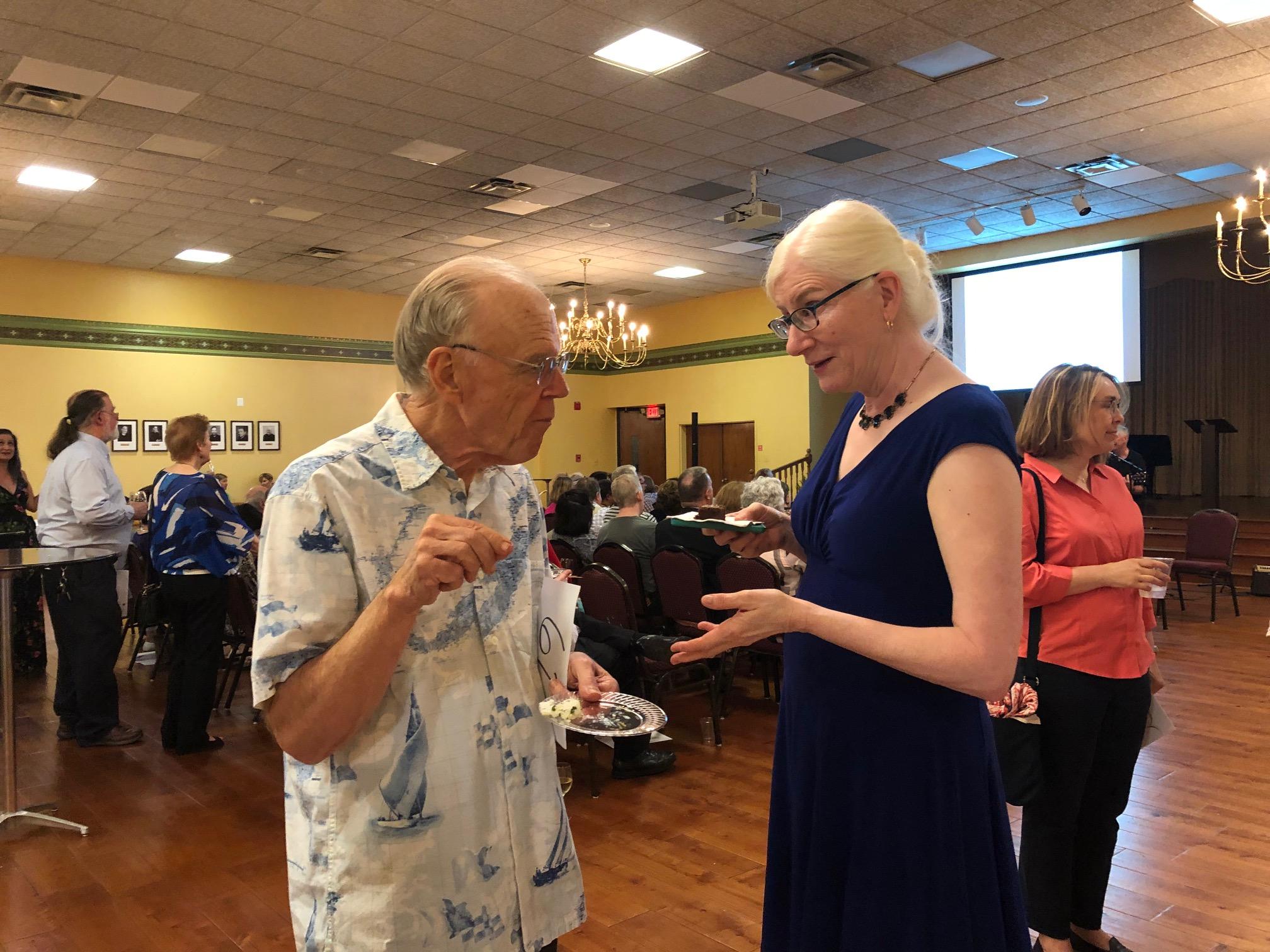 Bob Shafer & alto Joyce Korvick