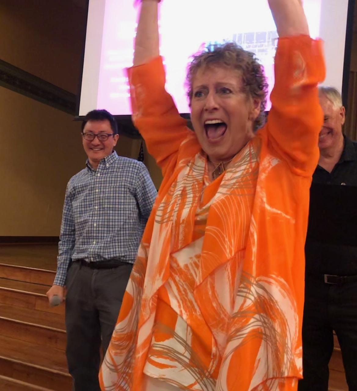 Soprano Laura Bradfield celebrates the success of DoMore24