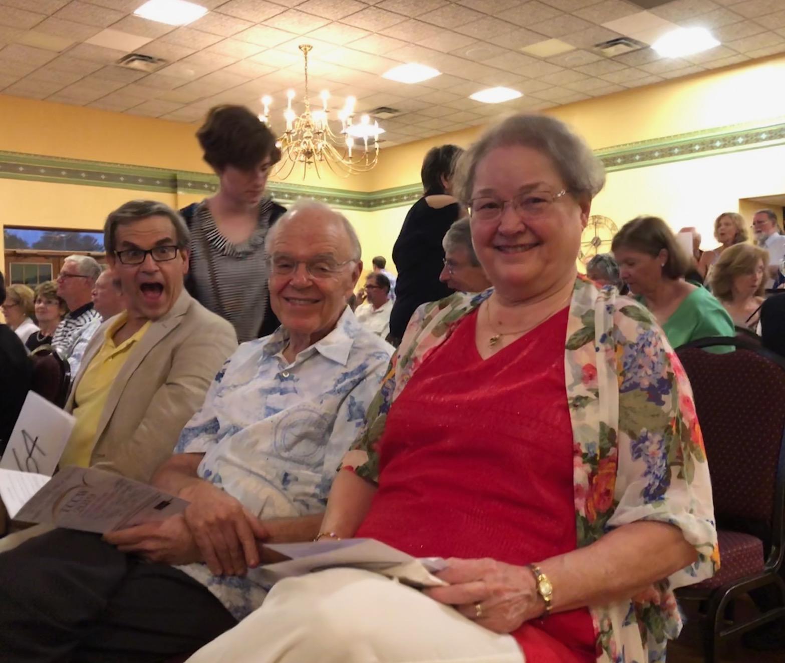 Jim Shaffran with Bob & Sharon Shafer