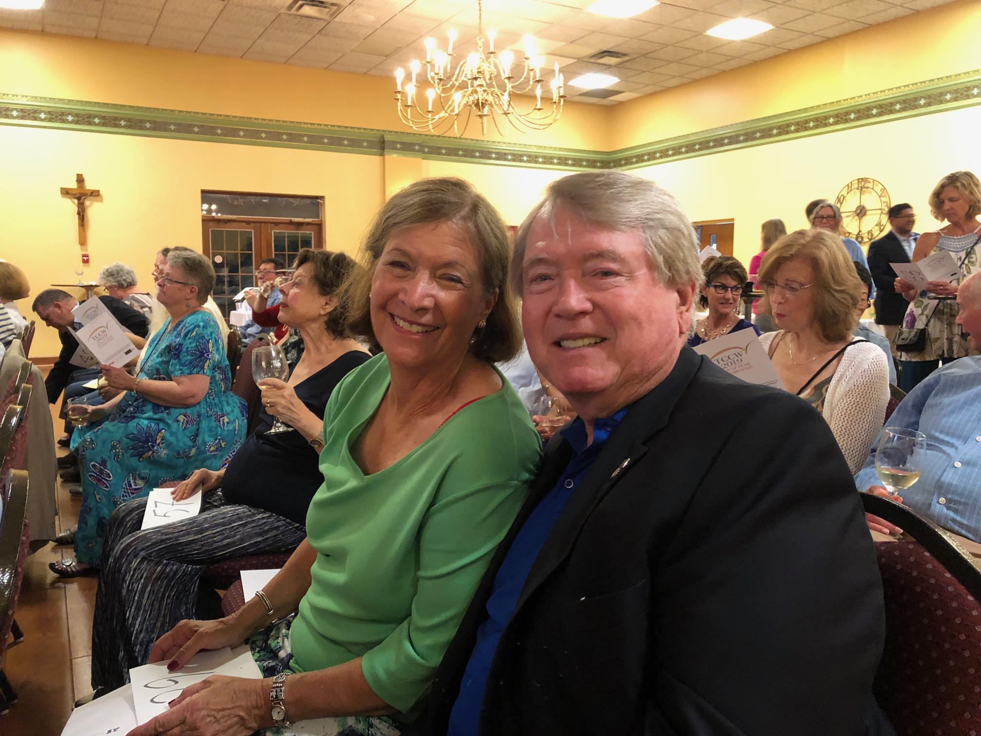 Alto Barbara Greene & husband Jon