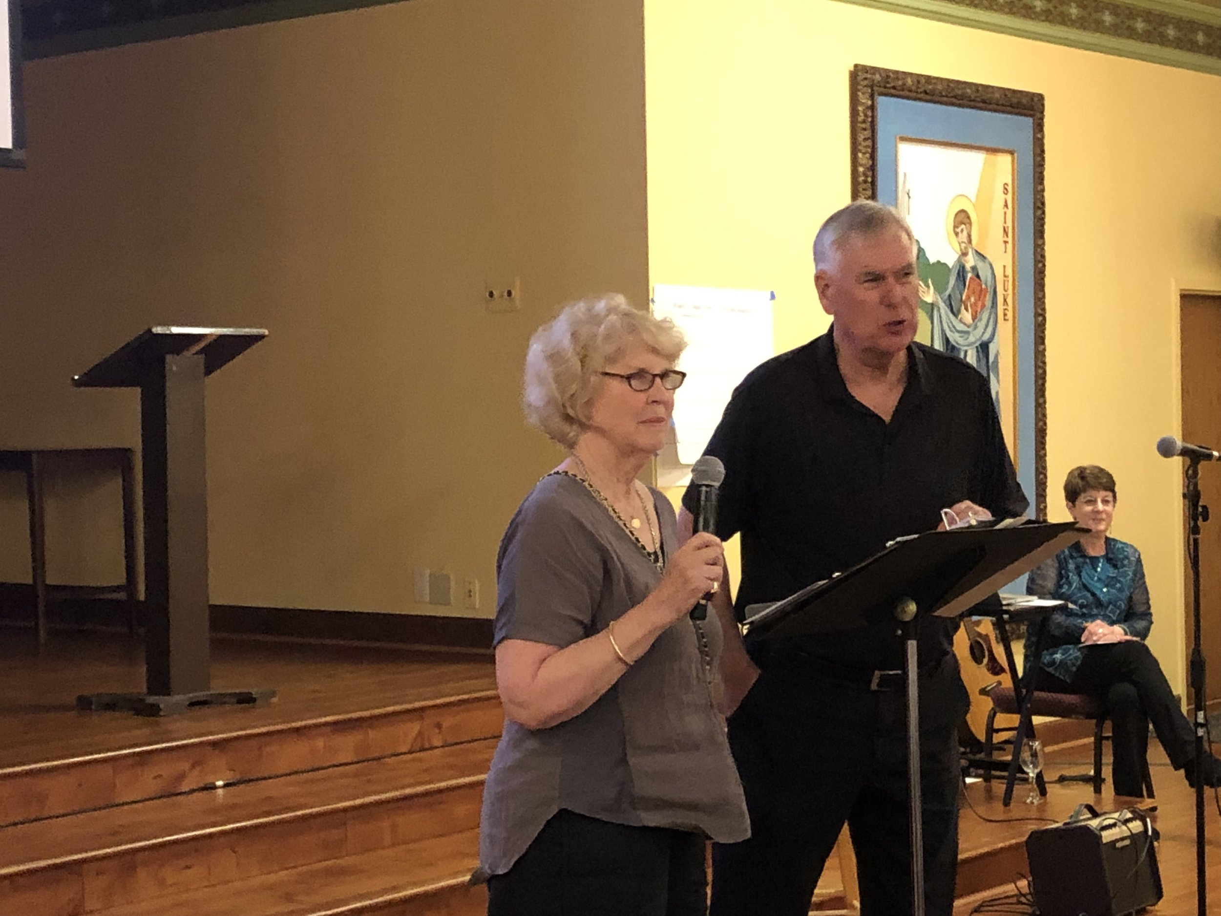 Alto (and poet) Anne Woodworth describes her poetry reading auction offering