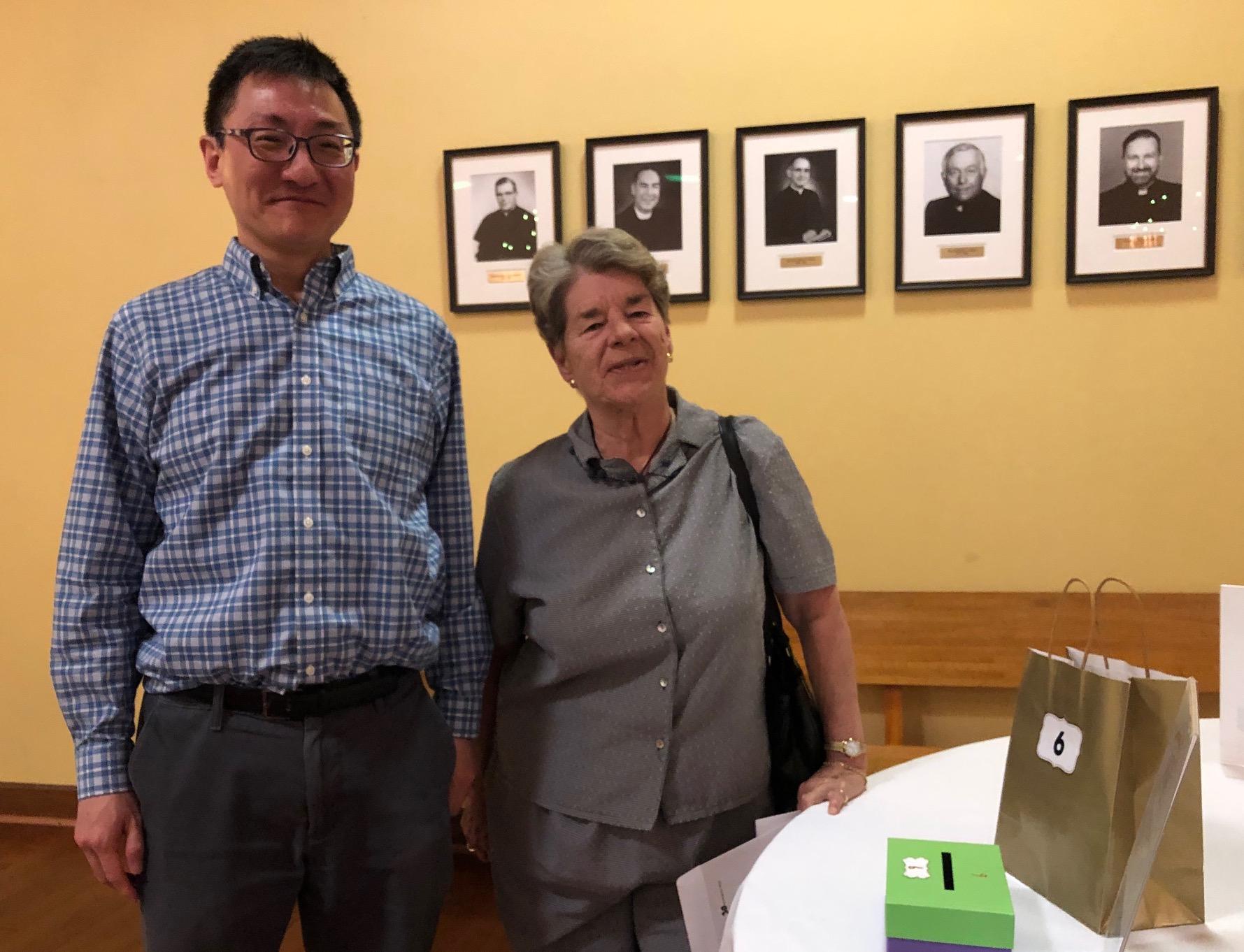 Tenors Ben Tsai & Meg Hemingway