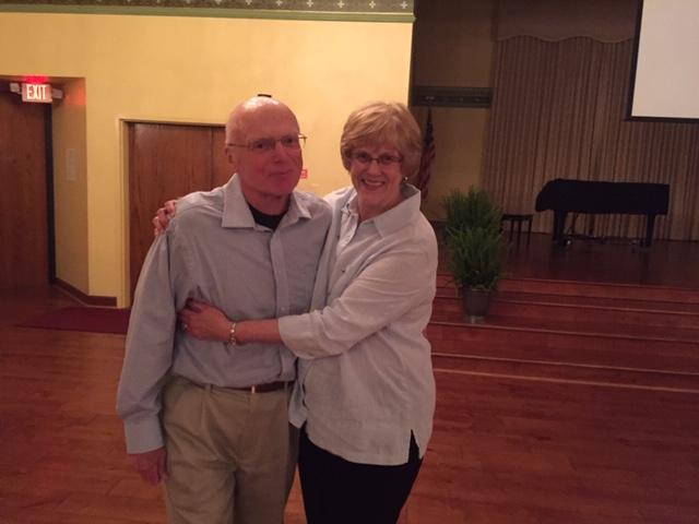 Soprano Carol Edison with husband Bill