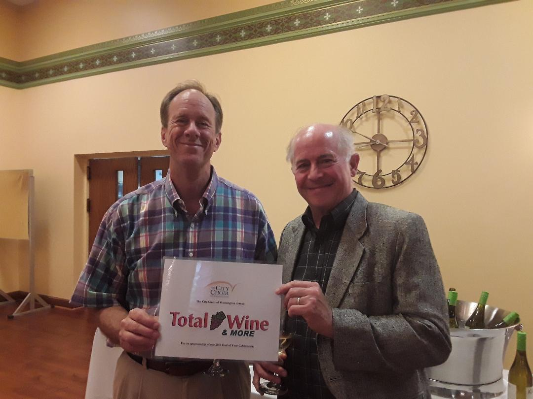 Baritones Kevin Boteler & Steve Briggs