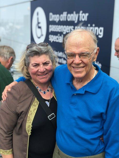 Bob Shafer & tour guide Esther