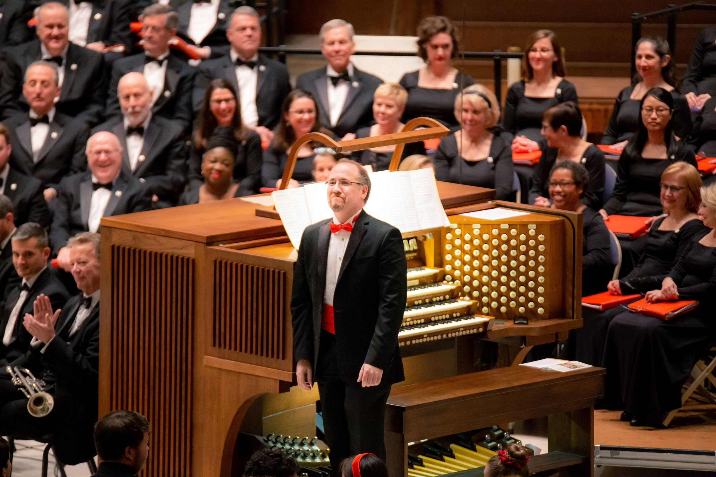 January 2019, organist Todd Fickley