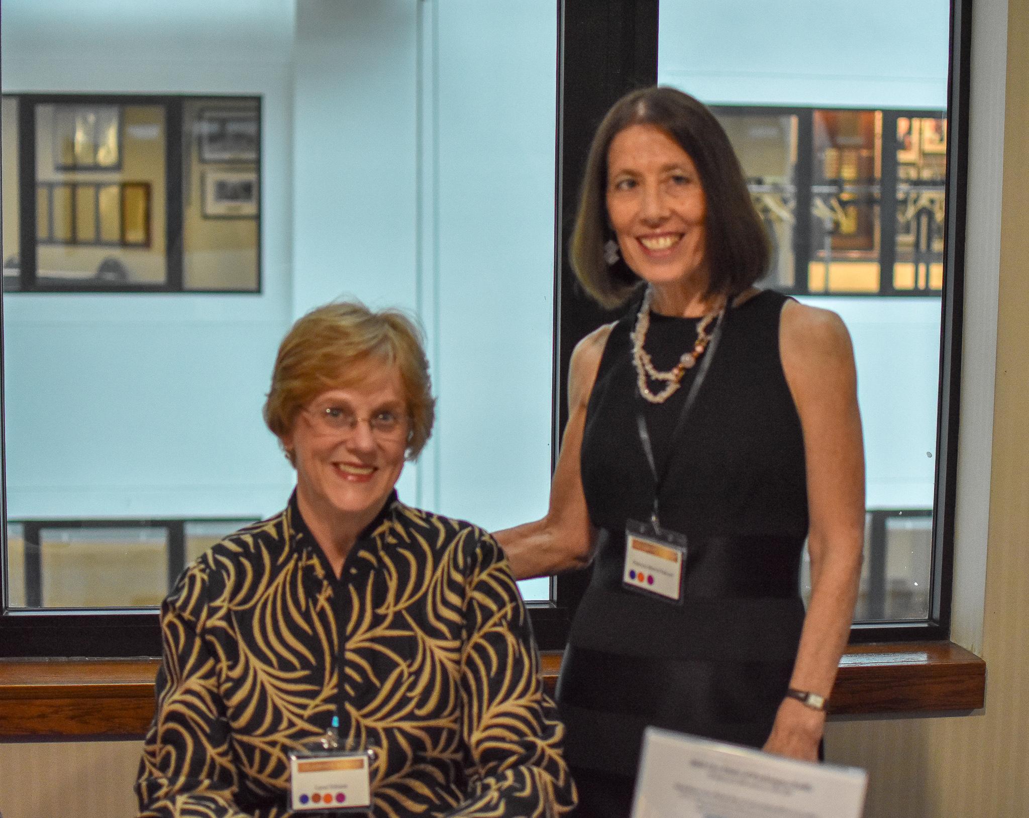 Carol Edison & Patricia Morris-Falconi