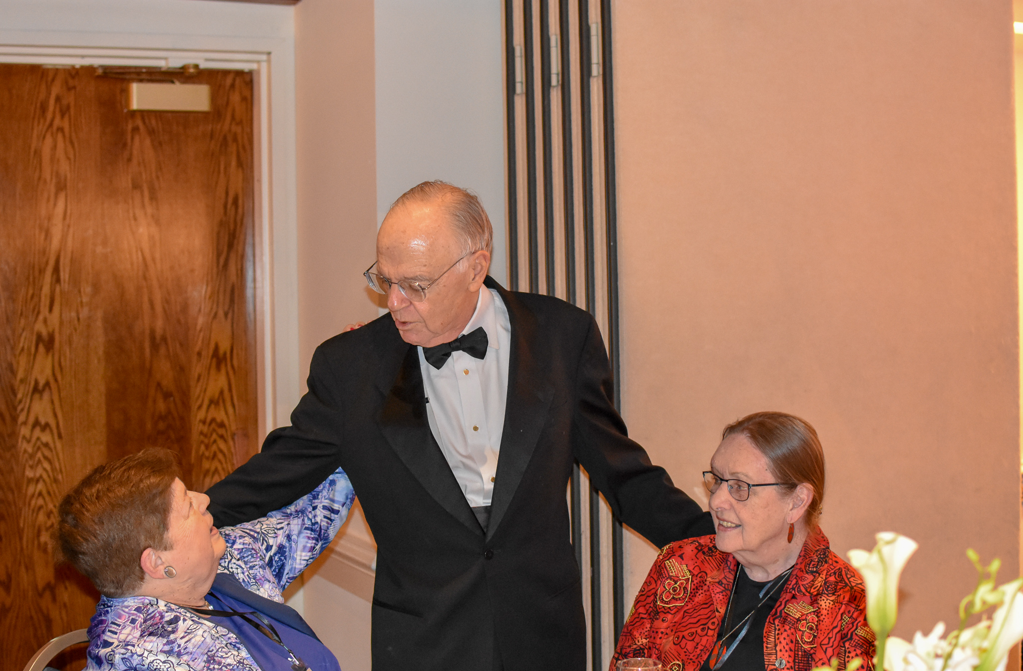 Cita Furlani, Bob Shafer & Elaine Wunderlich