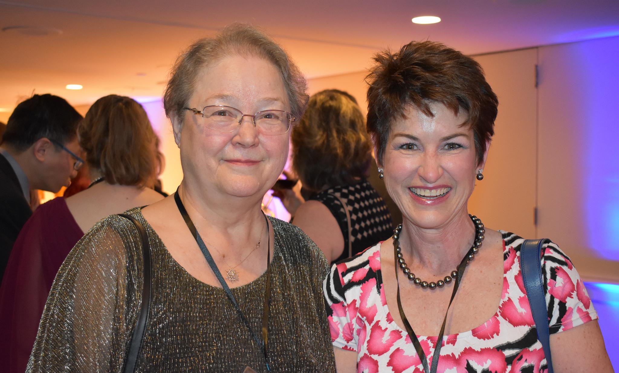 Sharon Shafer & Kathy Lupinacci