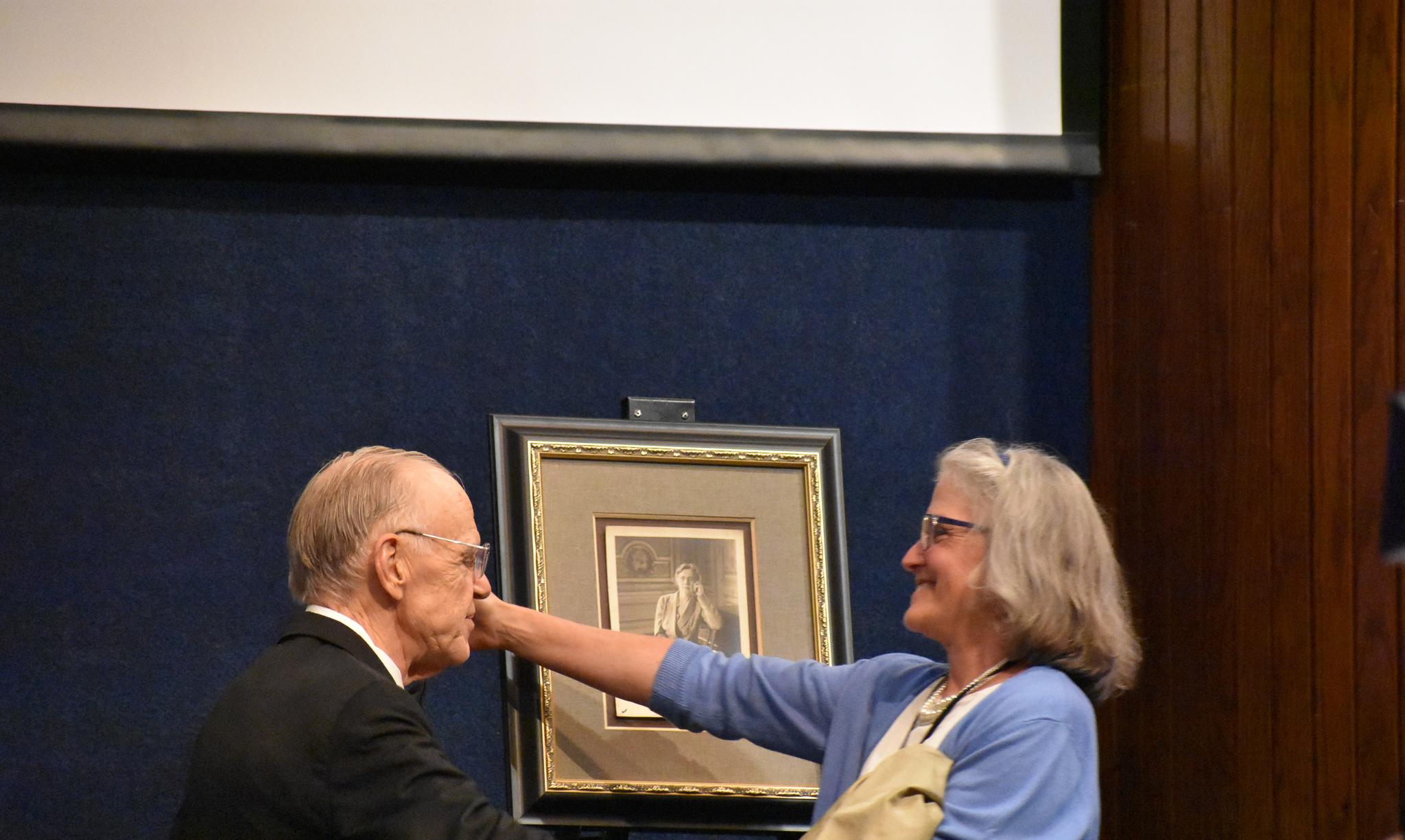 Presenting a photo of Nadia Boulanger