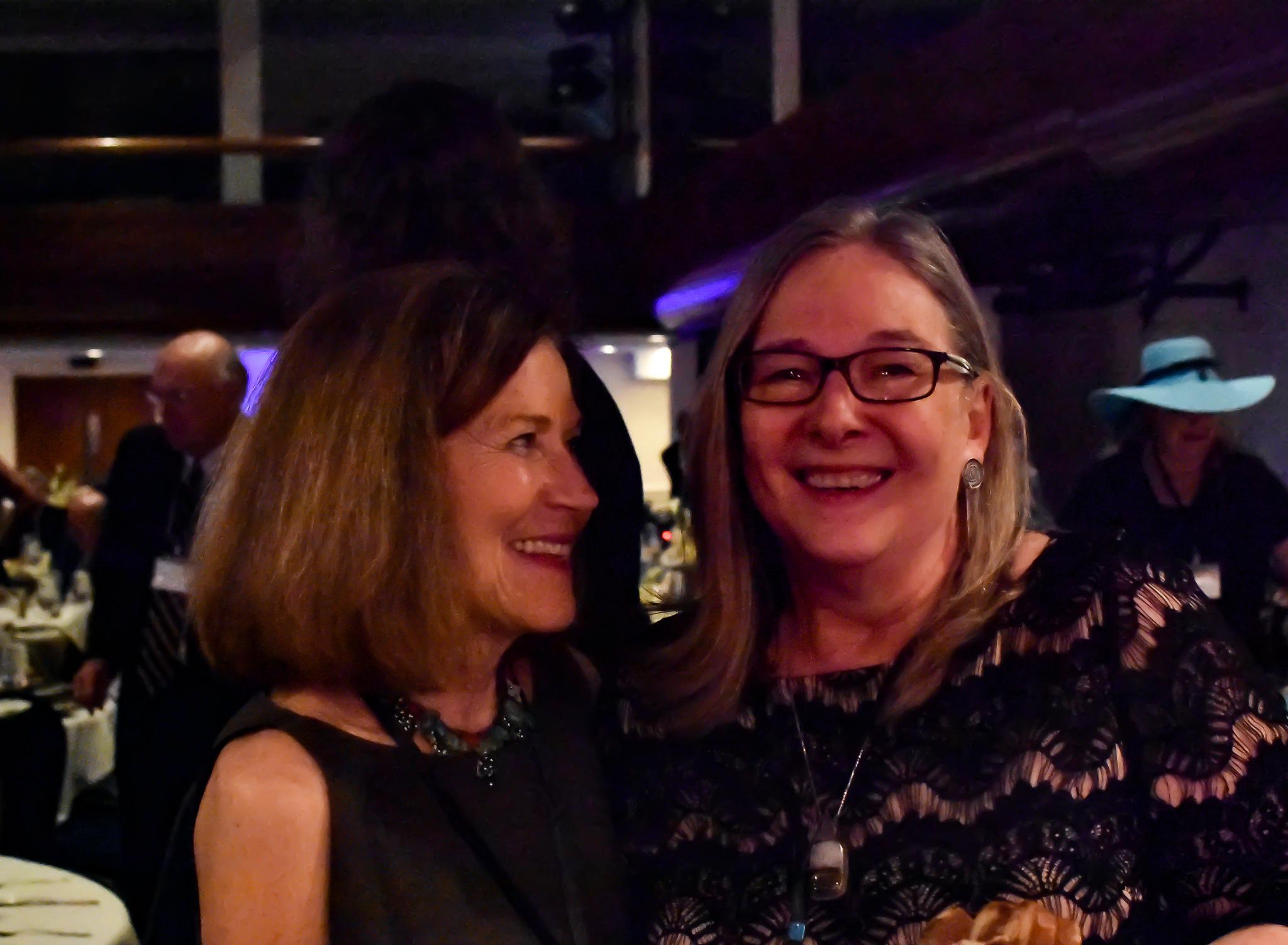 Susan Schumacher & Peggy Hatton