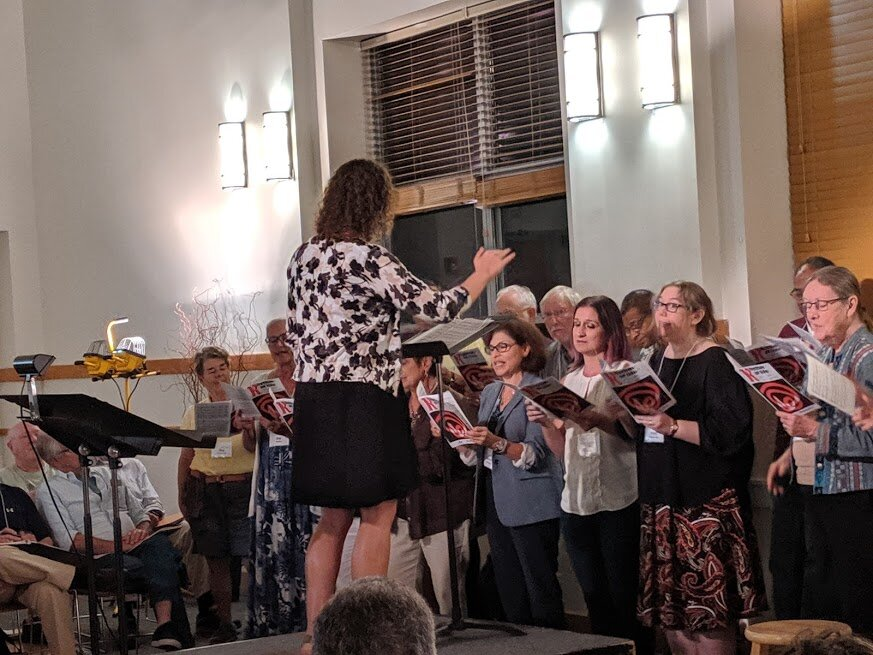 City Singers perform for TCCW, Sept. 2019