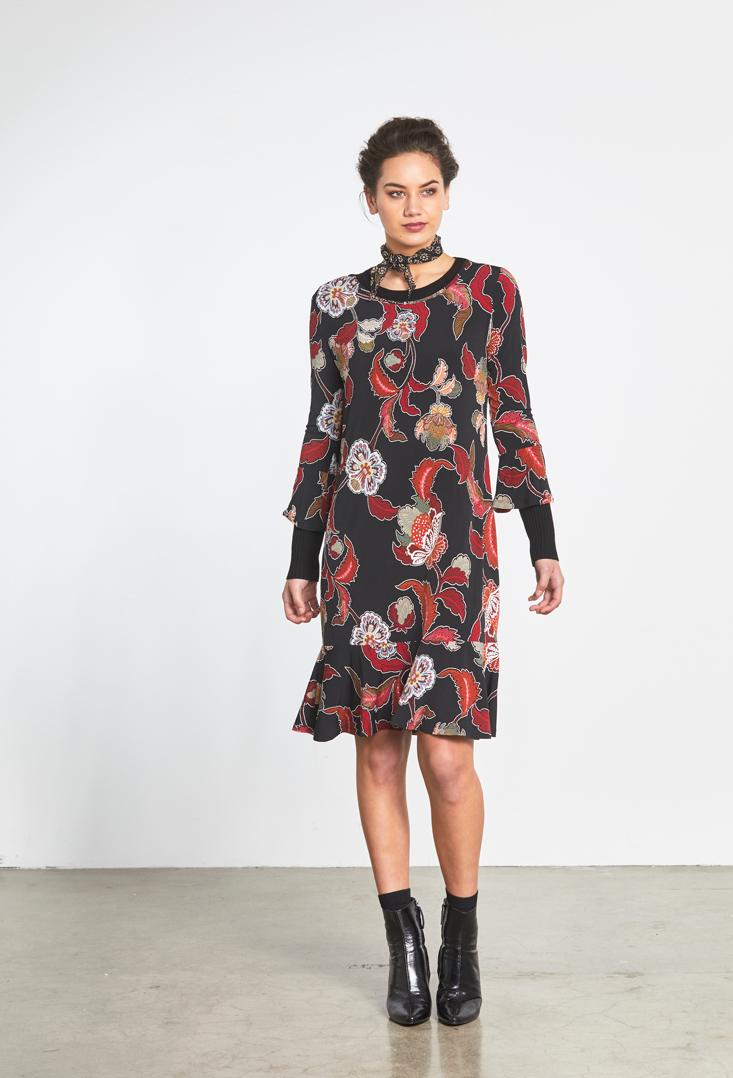 Knit Flute Dress Rib Sweater.jpg