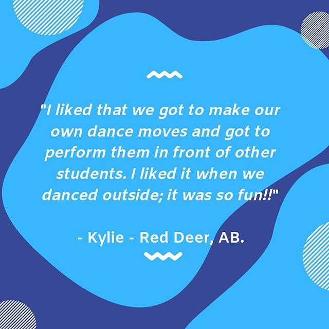We couldn't agree more with you Kylie! Our @dancepl3y programs emphasize 3 core principles. 👇🏻. ————————————————————-*1. Be Positive 😀. *2. Be Fun 🕺. *3. Be YOU 💪. ————————————————————To book is for a #DANCEPL3Y workshop in your school, connect with us (Email found in bio) 👍. ———————————————————- #physicalliteracy #bepositive #befun #beyourself #pl3yeducation #bubbleofawesome #mentalhealth #youareawesome #physed #physicaleducation #curriculum #standardsbased #dancepl3y #danceinschools #dance #dancing #PE