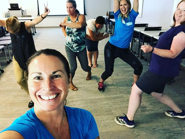 These educators took teaching dance to a new level! They totally claimed their #bubbleofawesome at Limestone District School Board's Summer Institute! #LDSBSI! #physicalliteracy @dancepl3y @pl3yeducation @egibby90 #ldsbewell @limestonedsb @pricia_evans #bepositive #befun #beyourself