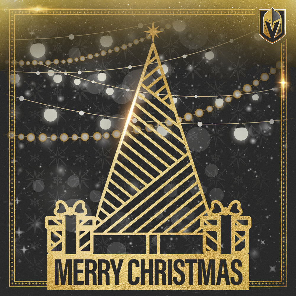 Merry Christmas From The Golden Knights — VGK Lifestyle
