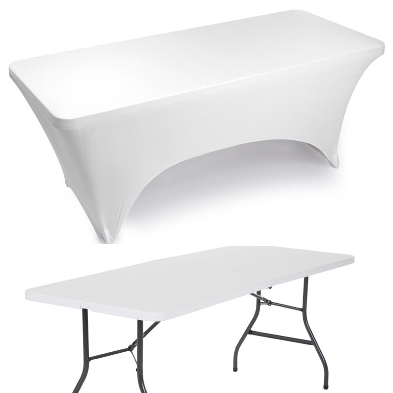 (1) Rectangular table $15 - 8 Ft Collapse-able
