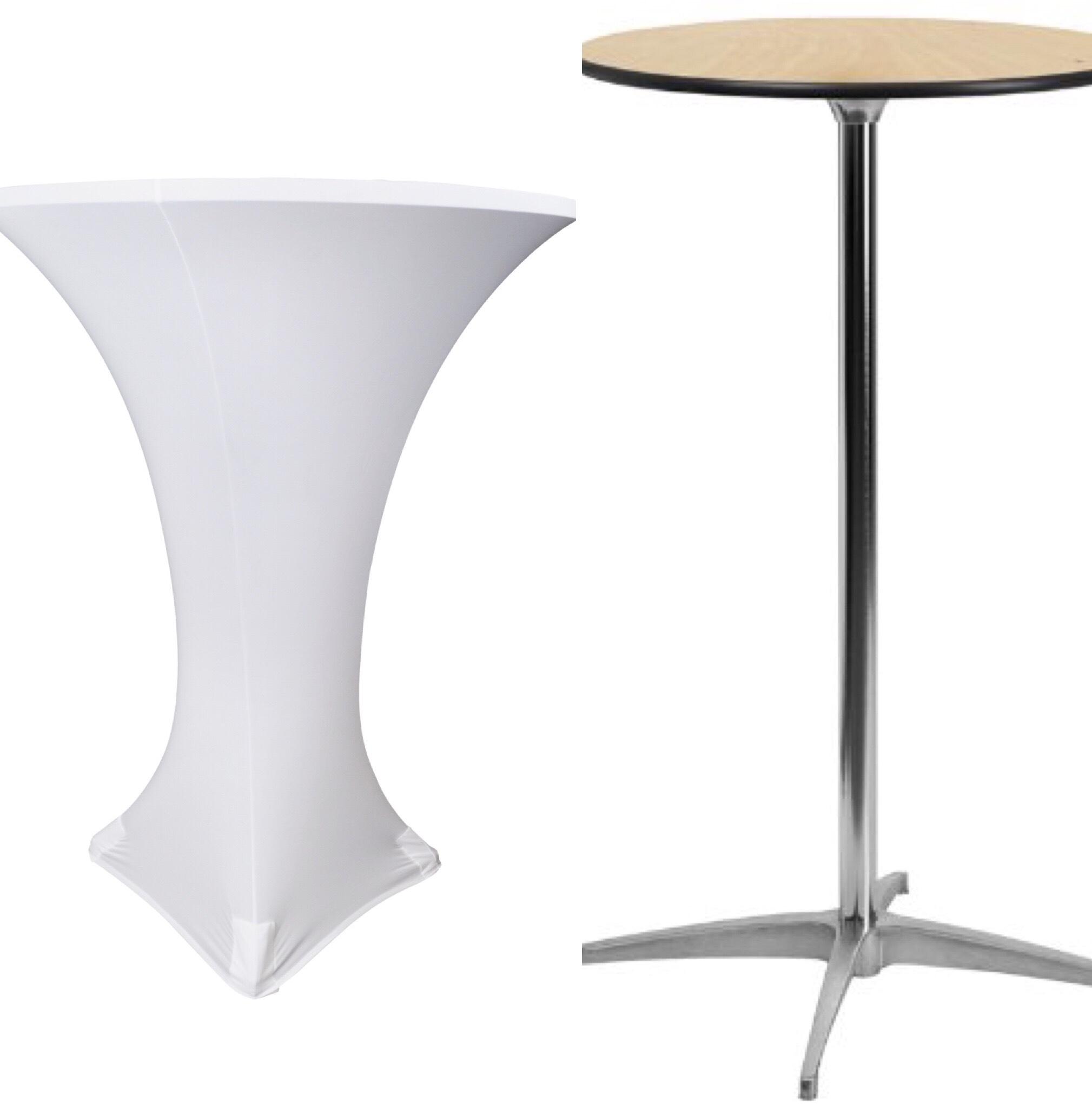 round highboy table $15 - Adjustable Height