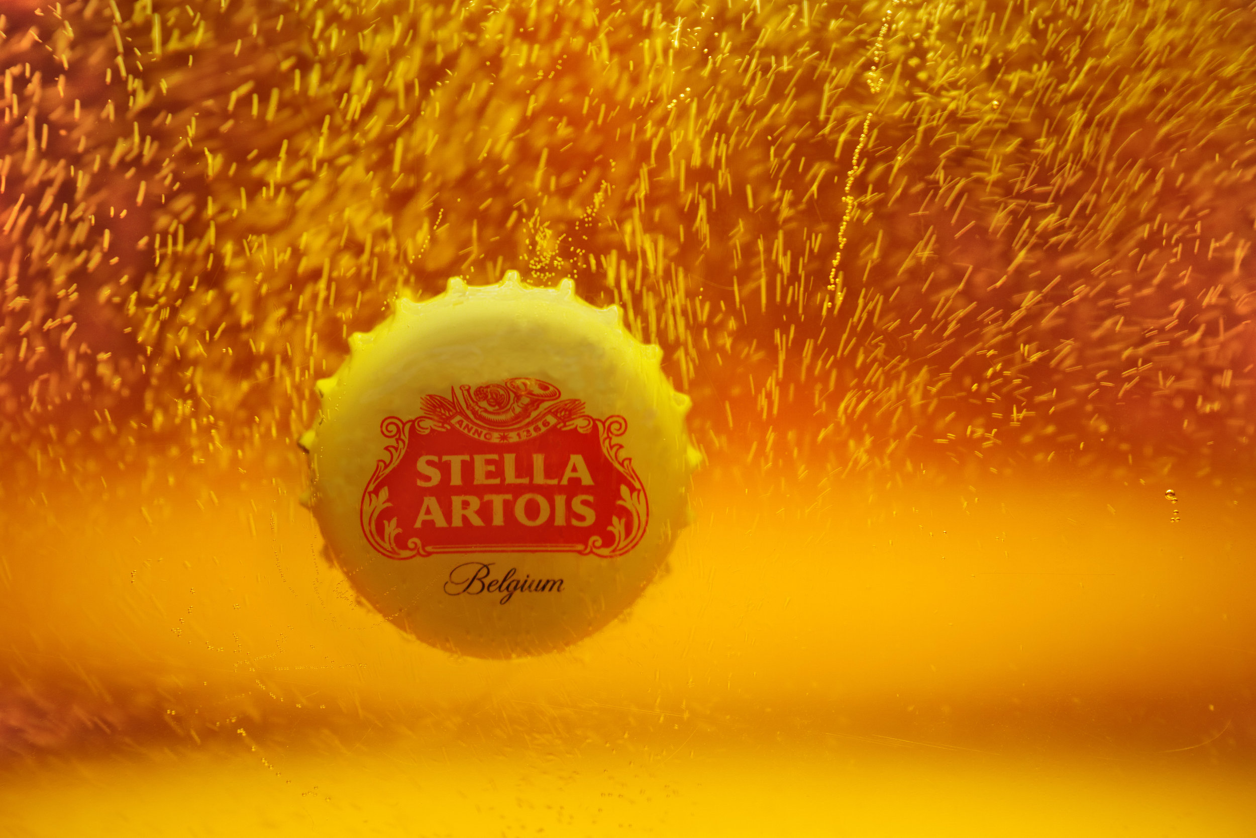 Stella Artois Dunked Bottle Cap