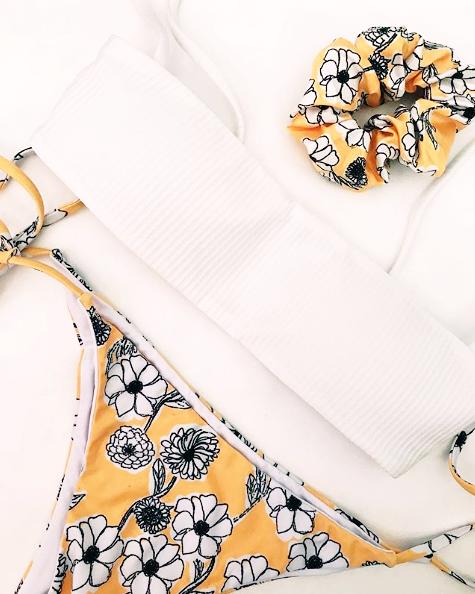 Nora Swimwear x Andrea Cáceres   Diseño Textil / Ilustración