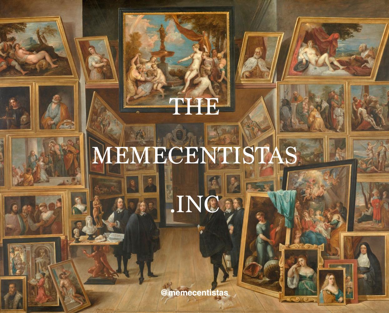 """""""El archiduque Leopoldo Guillermo en su galería de pinturas en Bruselas  """" (1647-1651) - David Teniers."""