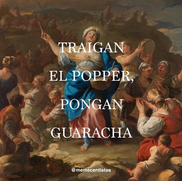 """""""El cántico de la profetisa María"""" (1687) - Luca Giordano."""